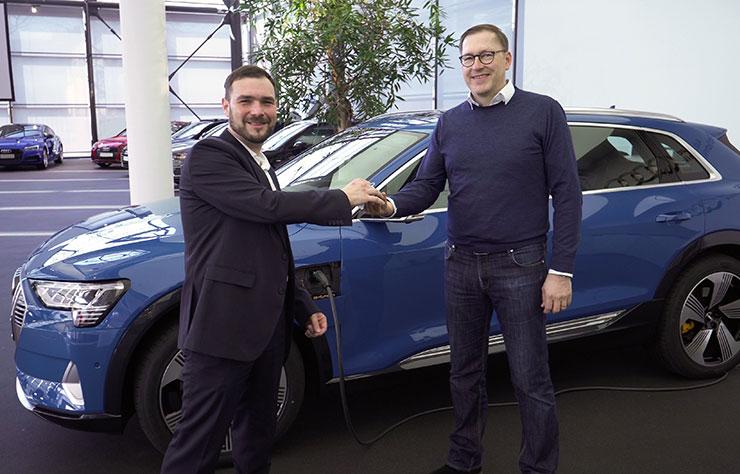 Audi e-tron SUV électrique