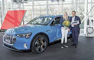 Les premières Audi e-tron sont livrées