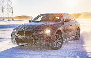Tests hivernaux réussis pour les futures BMW i4 et iX3