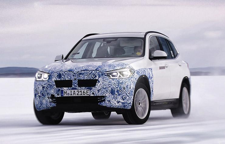Prototype BMW iX3