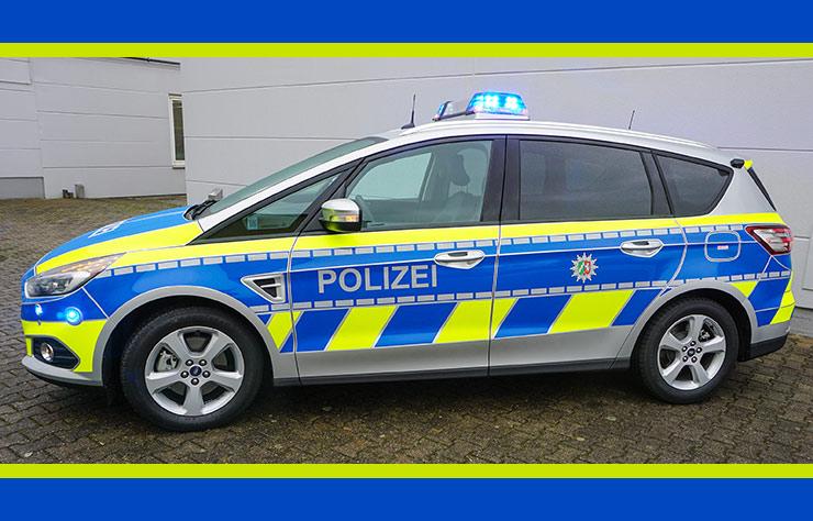Ford S-Max diesel EcoBlue de la police allemande