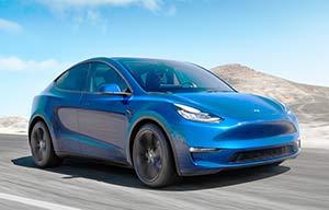 La Tesla ModelY à partir de 56000€