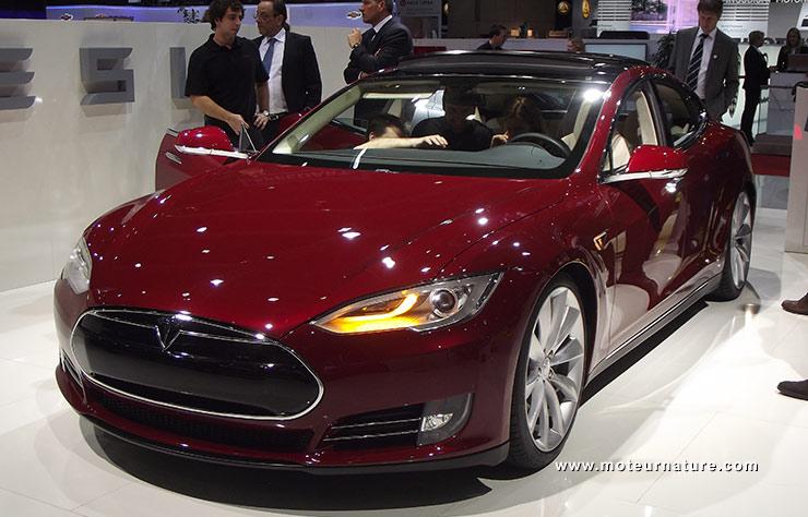 Tesla Model S en 2012