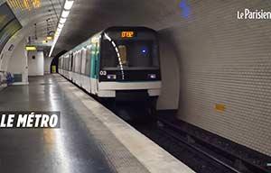 Le Parisien nous rappelle que l'air le plus pollué est dans le métro