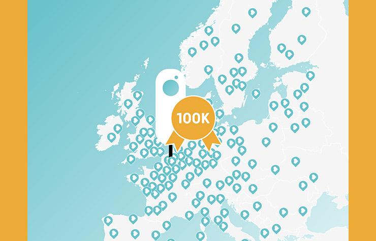 NewMotion, réseau de 100000 bornes de recharge