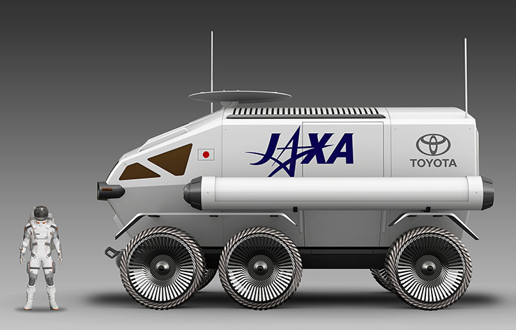 Véhicule lunaire de Toyota