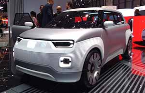 Genève: Fiat Centoventi électrique
