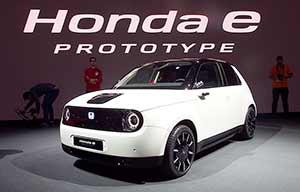 Honda e-Prototype, tout pour le plaisir