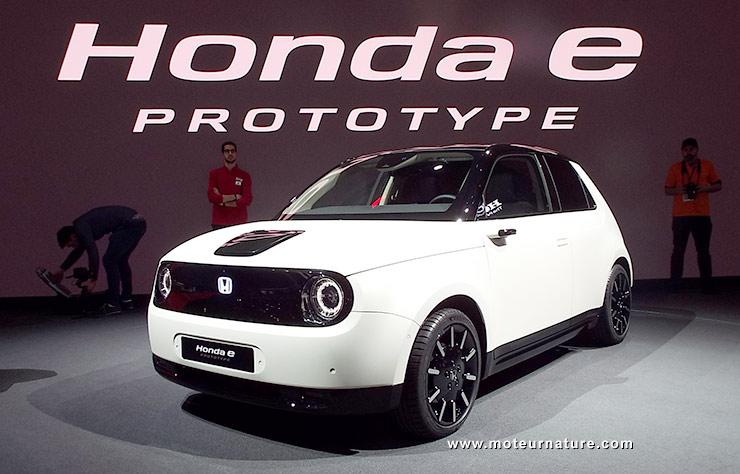 Honda prototype électrique