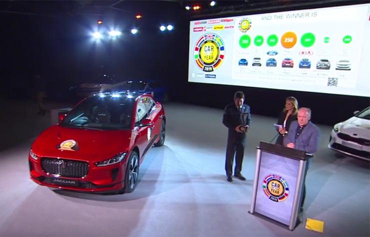 Jaguar I-Pace voiture de l'année