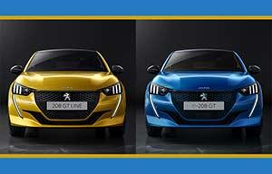 Au choix, Peugeot 208 ou e208