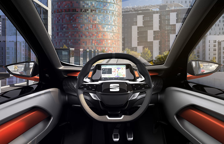 Concept électrique Seat Minimo