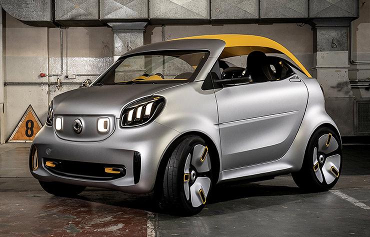 Concept électrique Smart Forease+