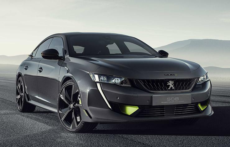 508 Hybride Peugeot Sport Engineered