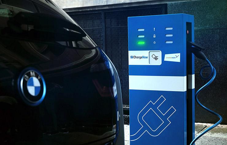 Charge Now, service recharge de voitures électriques de BMW et Daimler