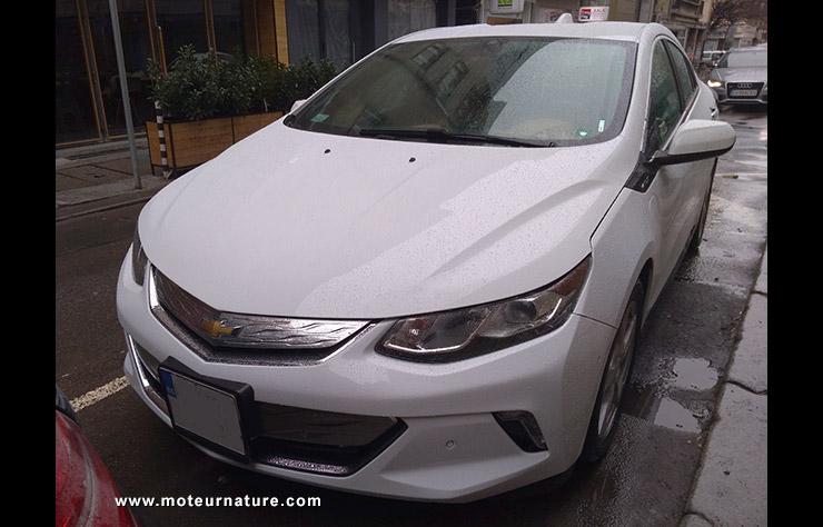 Chevrolet Volt II à Sofia