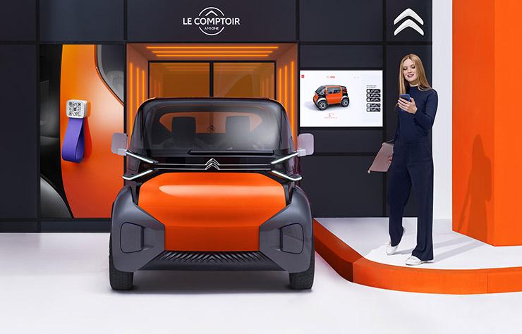 Concept électrique Citroen AMI ONE