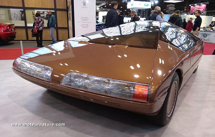 Concept Citroën Karin de 1980 au salon Rétromobile