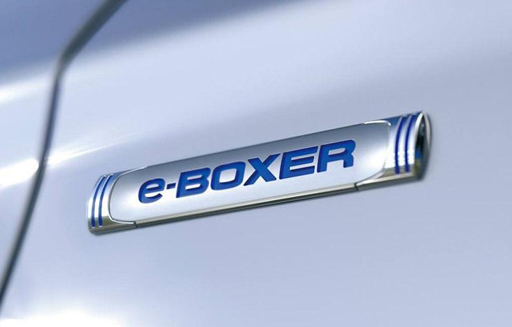 Logo Subaru e-boxer