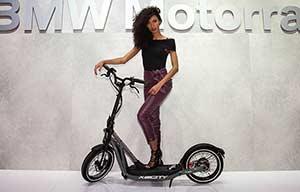 BMW X2City: une trottinette électrique