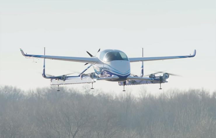 Passenger Air Vehicle de Boeing