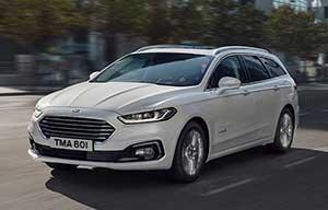 Ford Mondeo hybride: aussi en break