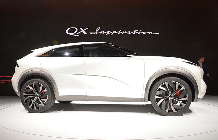Concept de SUV électrique Infiniti QX Inspiration