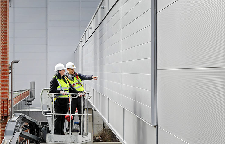 Mur antipollution de Porsche
