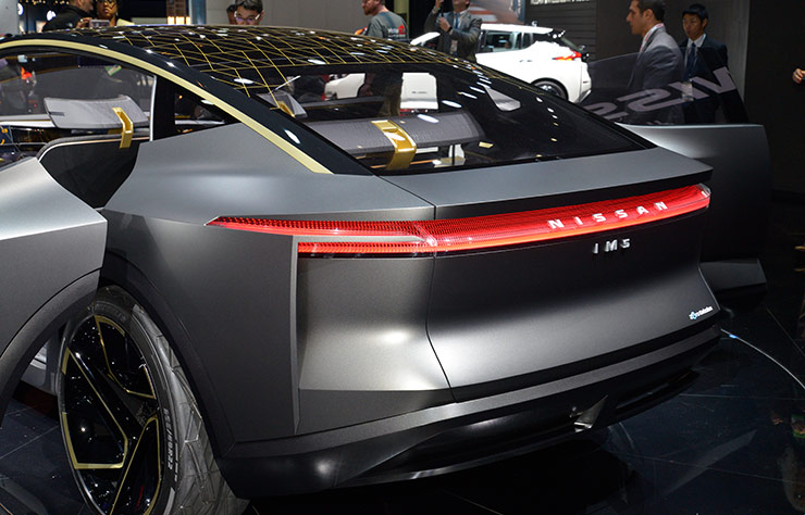 Concept Nissan IMs électrique