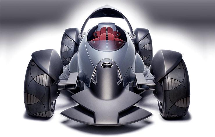 Concept Toyota de 2004 avec Panasonic