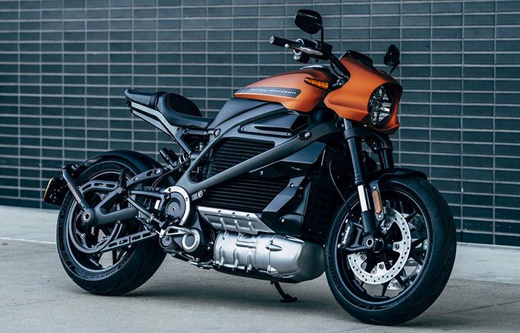 Moto électrique Harley Davidson LiveWire