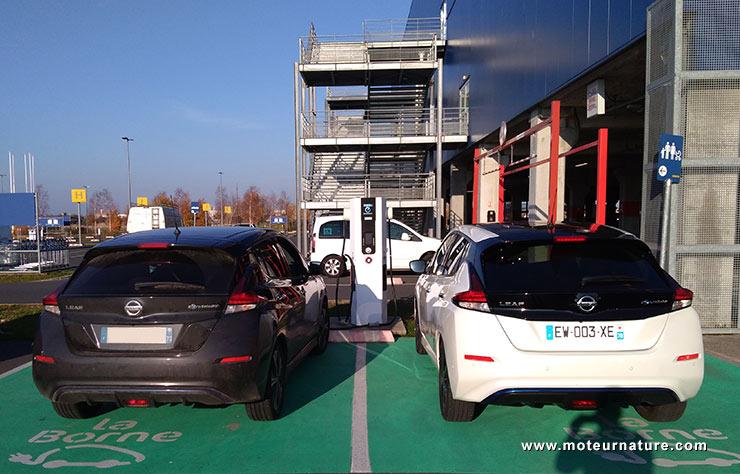 Nissan Leaf II électrique batterie 40 kWh
