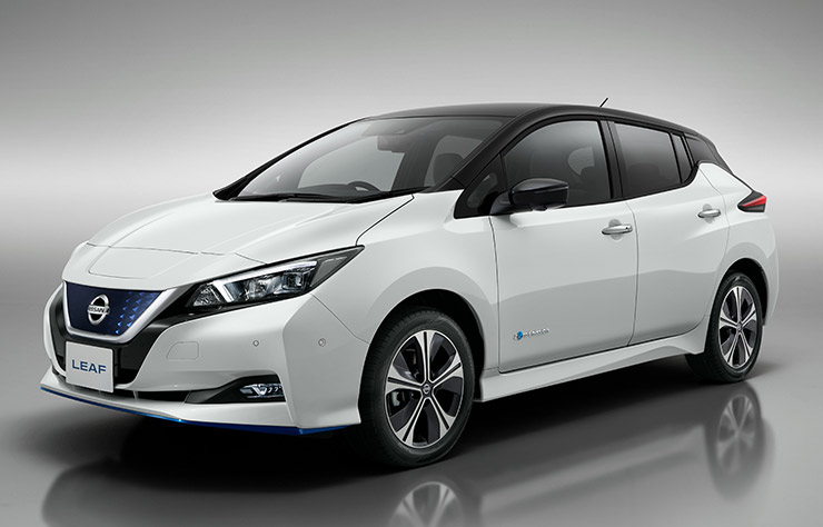 Nissan Leaf e+ batterie 62 kWh