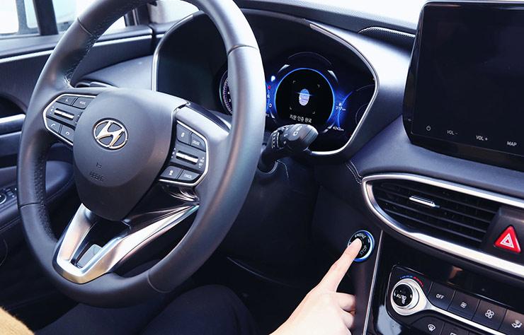 Hyundai avec démarrage sans clé par reconnaissance de l'empreinte digitale