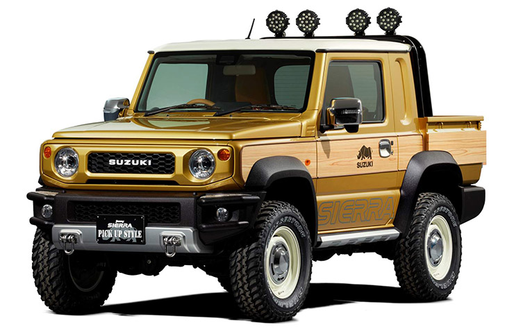 apr s le 4x4 suzuki r fl chit un pick up. Black Bedroom Furniture Sets. Home Design Ideas