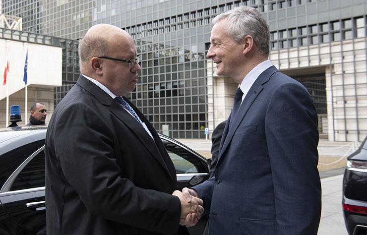 Peter Altmaier et Bruno Le Maire