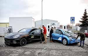 Allego, BMW, Porsche et Siemens lancent une borne de recharge à 450kW