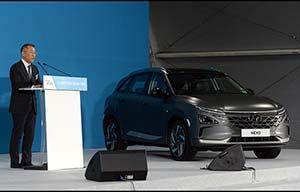 Hyundai vise une production de 500000 voitures à hydrogène par an