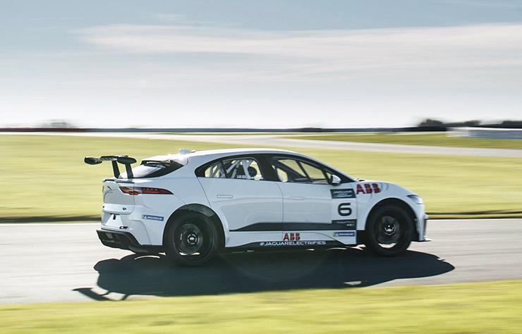 eTrophy, course de Jaguar I-Pace électriques