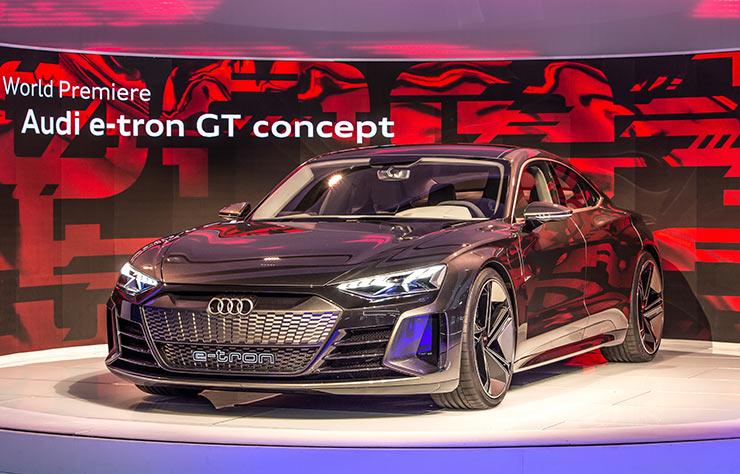 Audi e-tron GT concept électrique