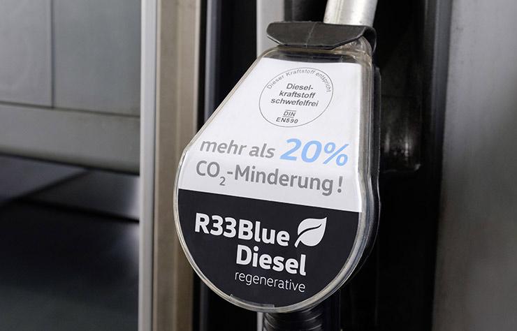 Volkswagen approuve le BlueDiesel R33