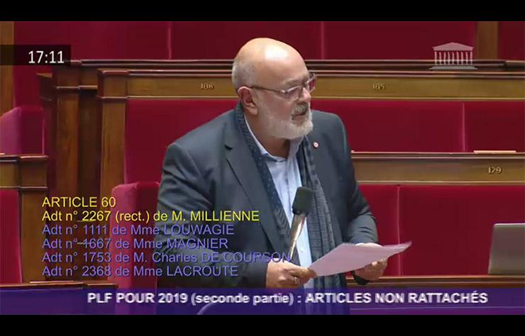 Bruno Millienne, député des Yvelines