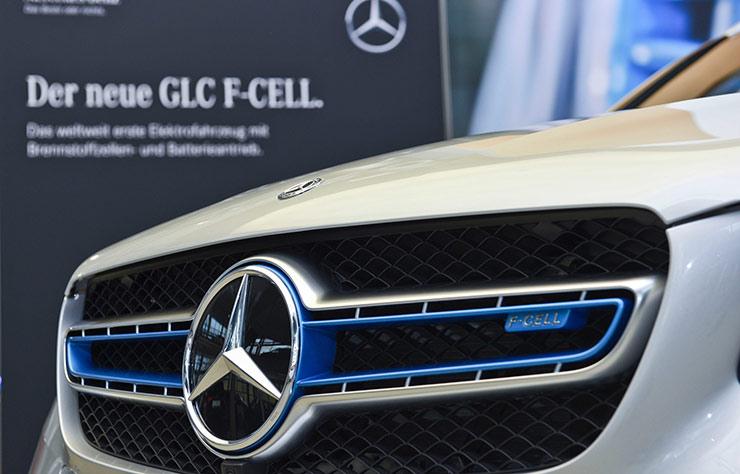 Mercedes F-Cell à hydrogène