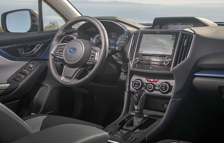Subaru XV hybride rechargeable