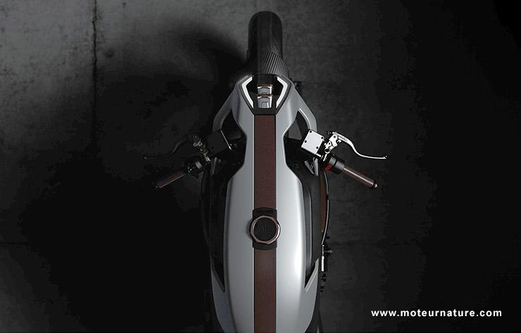 Moto électrique Arc Vector