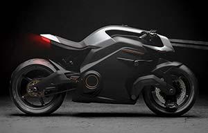 Jaguar investit dans l'Arc Vector, la moto sans tableau de bord