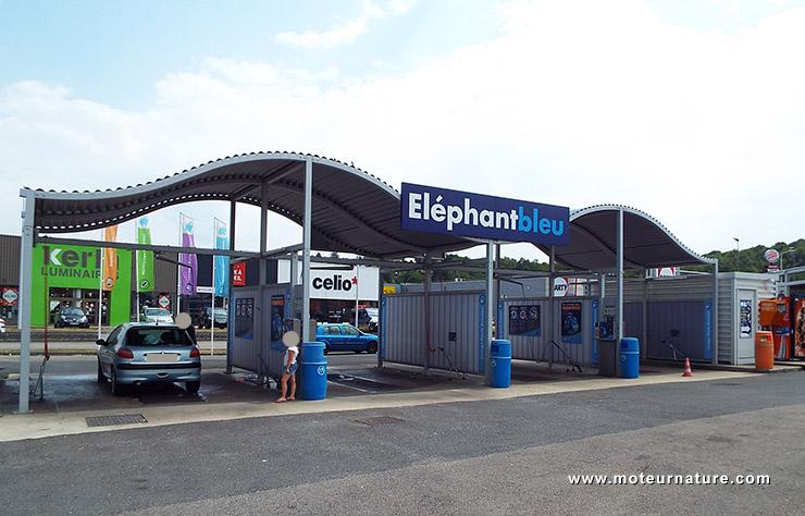 Station de lavage Eléphant bleu de Tourville la Rivière