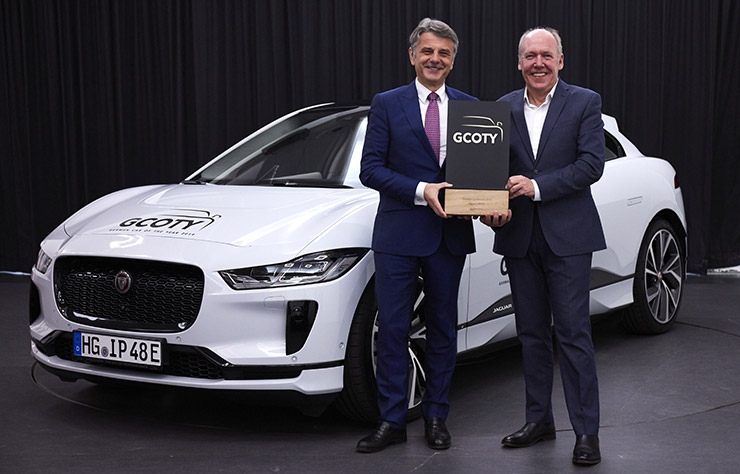 La Jaguar I-Pace élue voiture de l'année en Allemagne