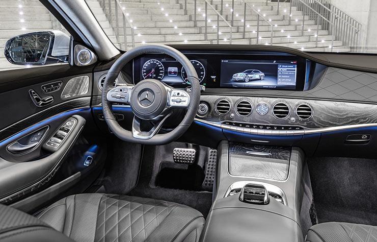 Mercedes S 560 e hybride rechargeable