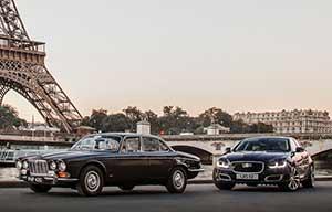 La Jaguar XJ fête ses 50ans au gazole